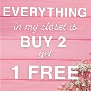 Accessories - Buy 2 get 1 free in my closet! 🌸